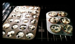 Little muffins, big muffins.